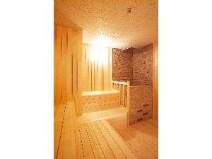 ホテル館内の大浴場にはサウナもあります。汗をかいてすっきり爽快♪