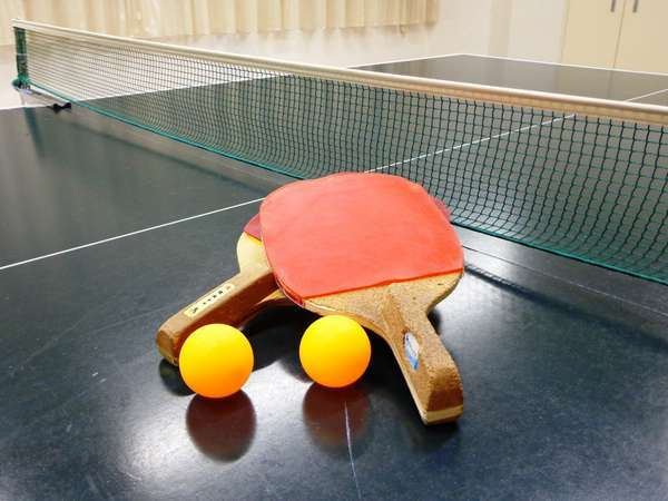 温泉の定番!?卓球は無料でご利用いただけます!(1回30分・ラケット、ボールあり)