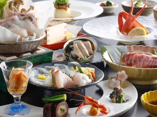 【11~3月限定】淡路島3年とらふぐとグルメ食材が楽しめるふぐ会席(一例)