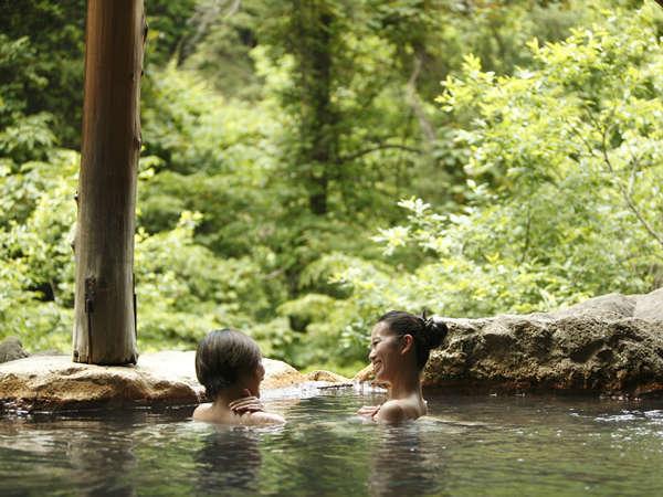 露天風呂から大自然を満喫