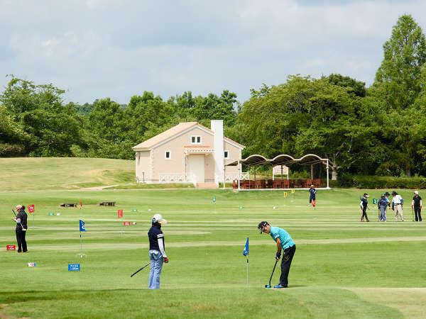 「グラウンド・ゴルフ」溢れる自然に囲まれた、自然芝の爽快なコース