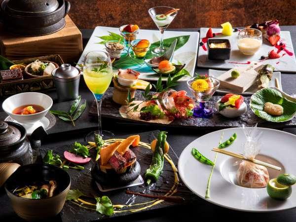 【2019夏のお献立】和食とフレンチを融合し、食材の魅力を最大限に引き出す和洋会席