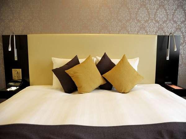 【全客室】上質な眠りを作るシモンズ製ベッドを採用しております。(ベッドはイメージです)