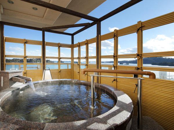 露天風呂付客室 芭蕉亭「松の間」 露天風呂