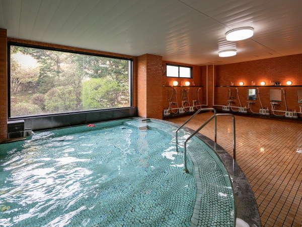 ◆大浴場の薬草風呂