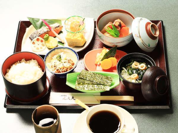 朝食-和食の一例