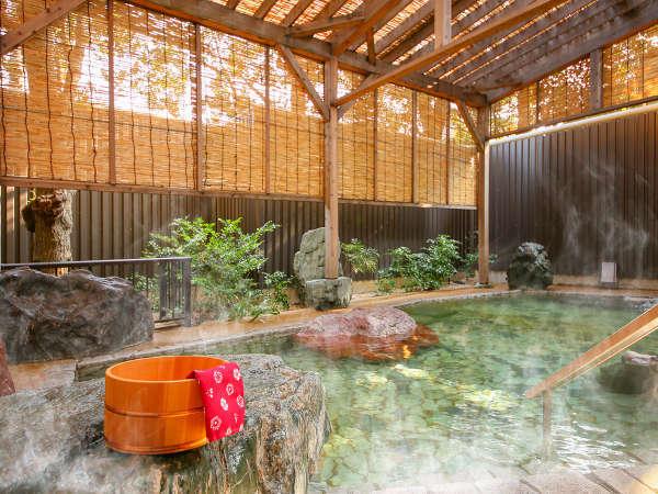 駿河亭-女性庭園風呂-露天風呂