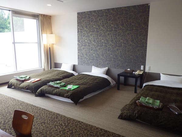 【客室】客室は全て南向きで、明るく開放的