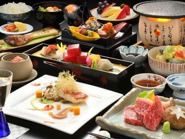 【人気NO.1◆前沢牛プラン】季節の洋皿は、料理長が趣向を凝らした逸品。