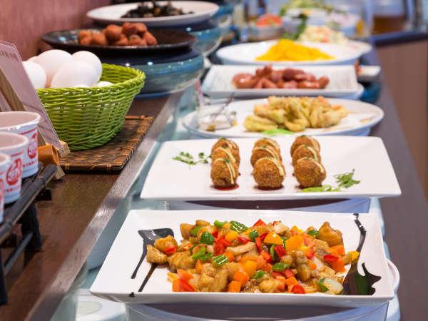 ■朝食バイキング☆毎日20種類以上のお料理をバイキングでご用意しております☆