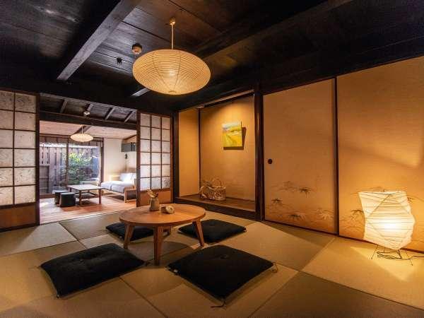 【VMGデラックス・902】1階が和室とリビング、2階にベッドルームのあるお部屋。