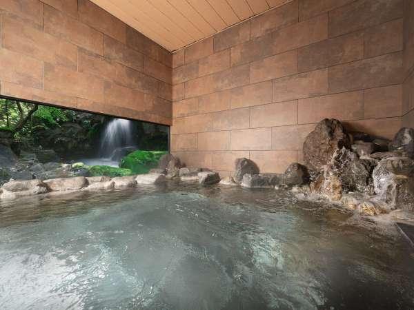 天平温泉『天平の湯』 岩風呂風女性風呂
