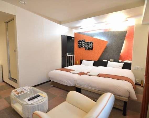 『スタイリッシュツインルーム』◆機能的かつデラックスなお部屋。