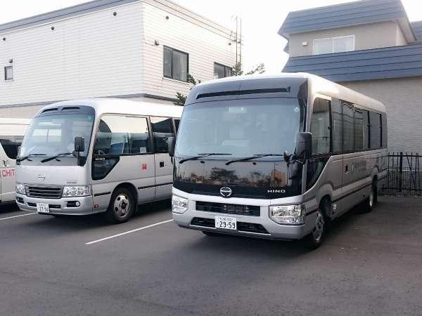 『マイクロバス』◆新千歳空港行き無料シャトルバス※お送りのみ