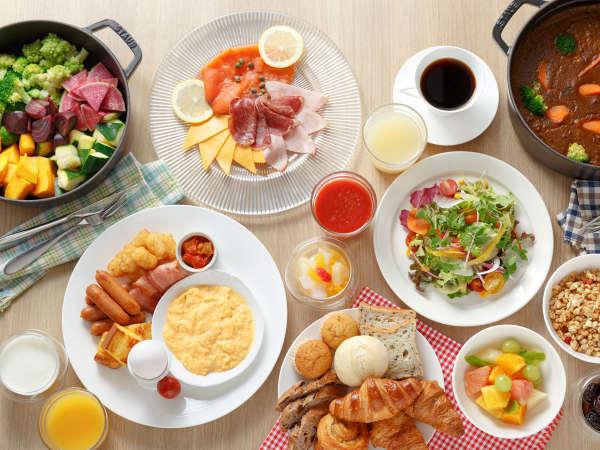 【朝食ブッフェ】5:00~10:00で営業中