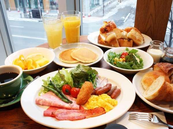 朝食(盛付例・イメージ)