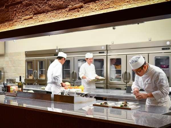 2018年9月リニューアルオープン♪レストラン「季の蔵」オープンキッチン・ビュッフェスペース