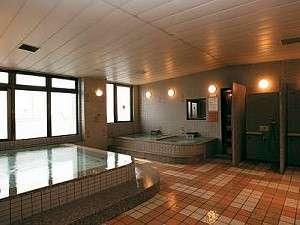 男性用大浴場 (薬草風呂・サウナもあります)