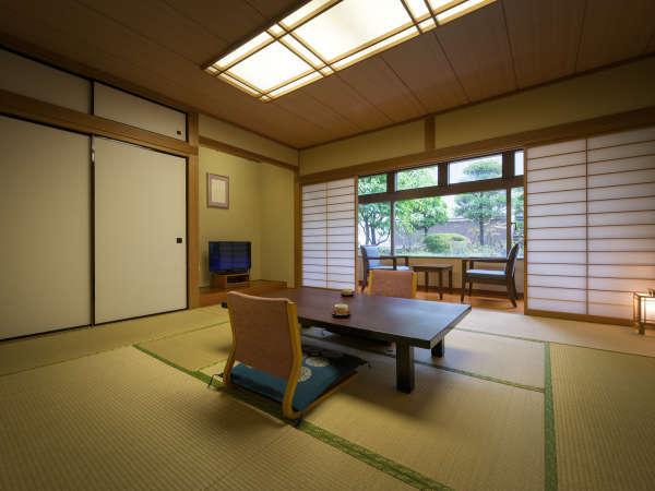 【客室】ゆったり10畳の和室