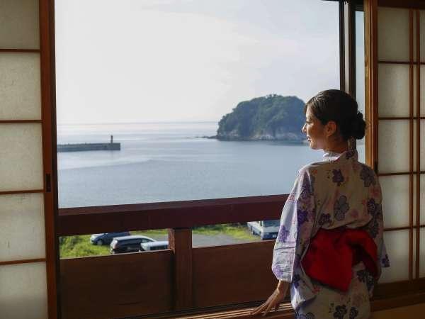 日本海の見えるお部屋和室