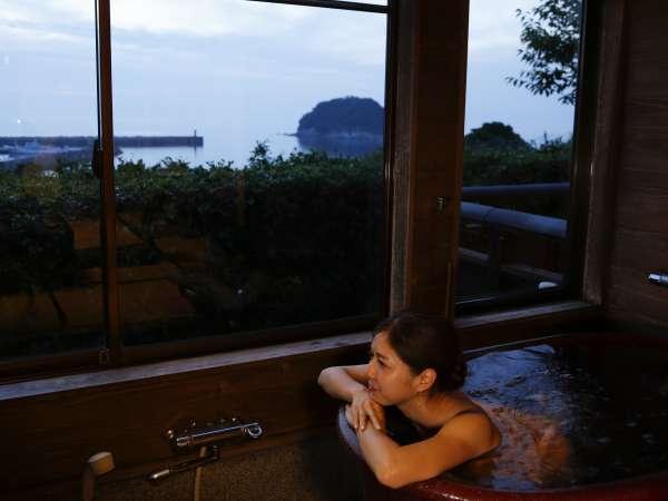 展望風呂付き日本海の見えるお部屋和室 ~お風呂に入りながら眺める風景最高~