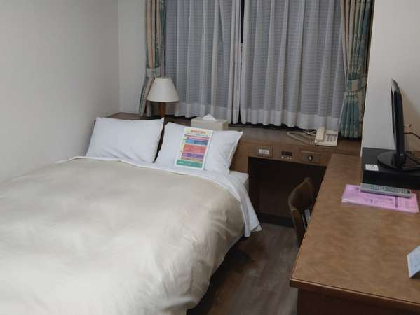 【セミダブルルーム】14㎡ カップルでご利用ください!  130cm幅サータマットレスゆったり快眠