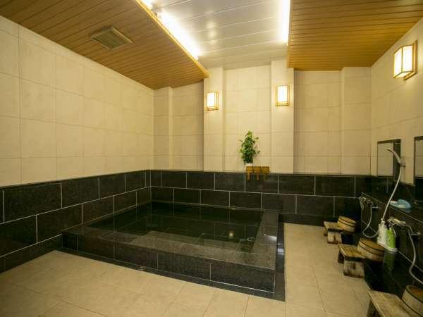 改修された大浴場