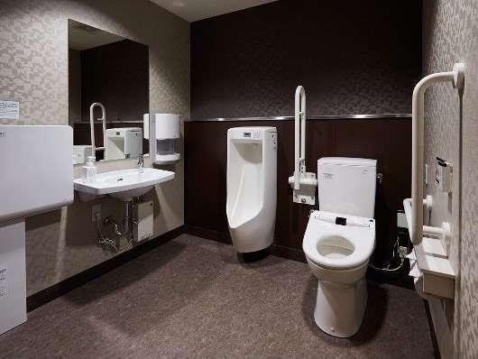 【1F】男性用・多目的トイレ