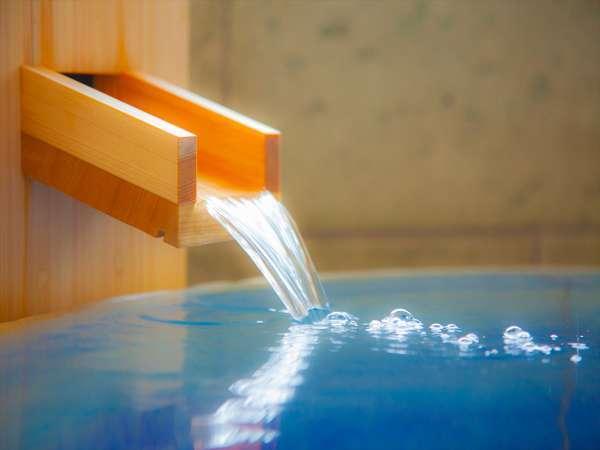 オーシャンビューのお部屋にある&半露天風呂の下田温泉