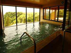 富士山、八ヶ岳、南アルプスを望む絶景の展望風呂は24時間いつでも入れます