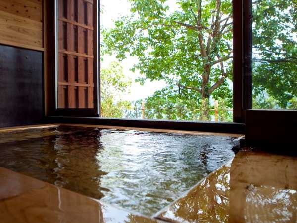 【家族風呂】檜風呂