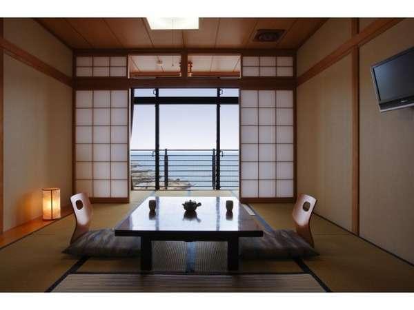 客室数10室の宿です。和室、ベッドル、2間の広い部屋。目的で選べます。全室禁煙。(喫煙室有)