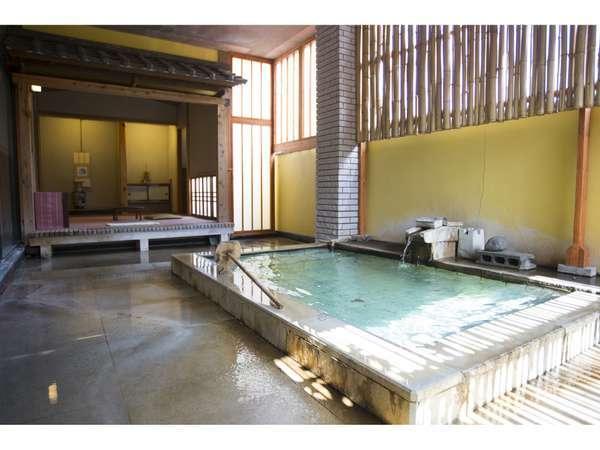 寂びの湯露天 茶室風呂