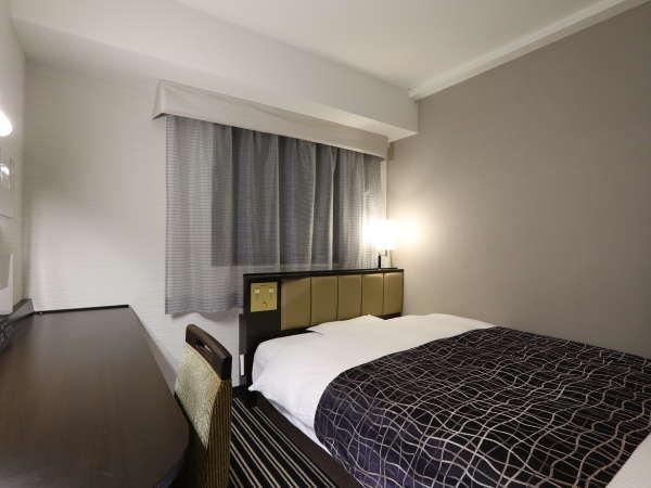 【シングルルーム】広さ10㎡/ベッド幅140cm