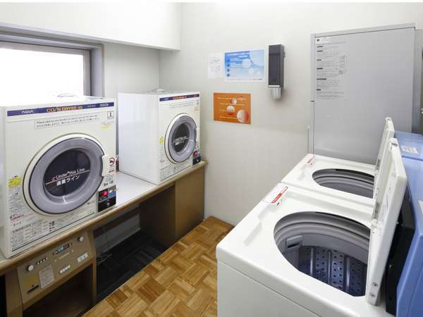 コインランドリー 洗濯機・乾燥機各2台