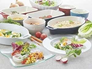 ~和・洋の朝食バイキング~※「兵庫県認証食材」の他、兵庫県産の食材を積極的に取り入れております!