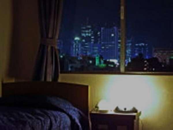 夜景の見える部屋は限定数有。お電話でご予約ください。