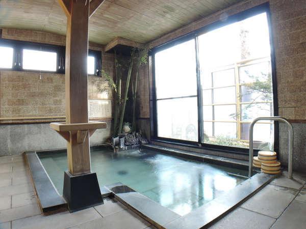 【大浴場】総御影石造りのお風呂