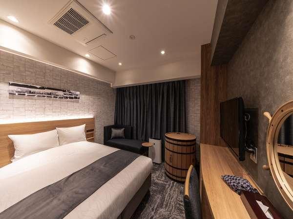 スタンダードダブル ―軟石デザイン― ※客室デザインはお選び頂けません。当日までのお楽しみ!