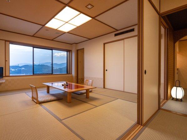 [皆美館]<優雅>和室/10畳+4.5畳/8階~13階の高層階-禁煙-