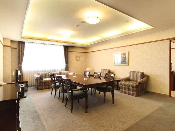 【スイートルーム】ホテル談露館が開業以来受け継いできたおもてなしの心を形にした特別な空間。