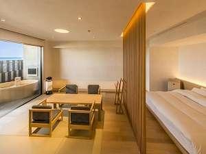 4階露天風呂付客室(和洋室)一例