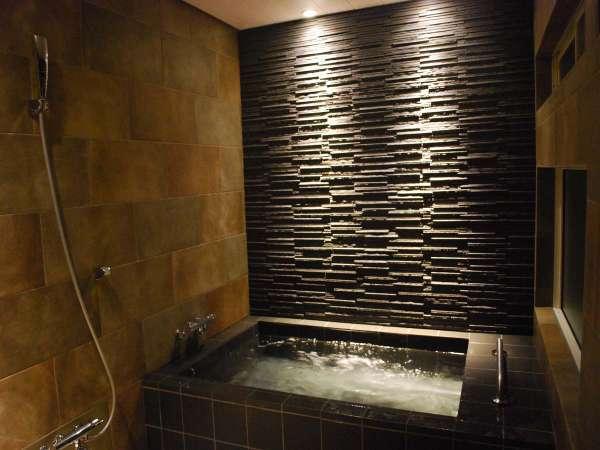 リニューアルした貸切風呂、水素風呂にもなります。