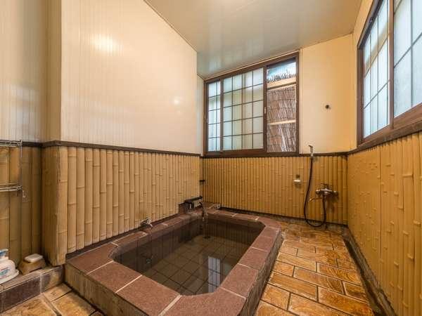 貸切風呂/いつでも自由にご利用いただけます。