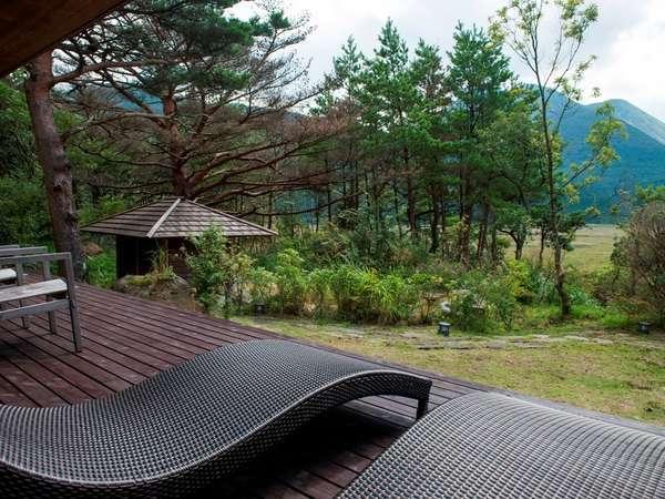 特別室別館 BEKKAN 【離れ特別室】【半露天風呂付き】ベランダから眺める景色は壮大です。