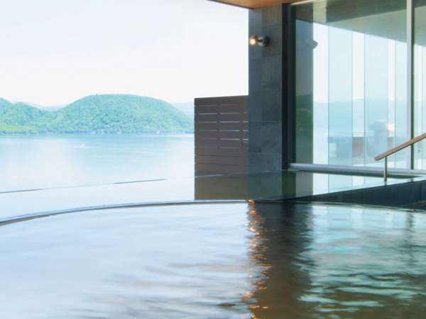◆つぼ湯から眺める