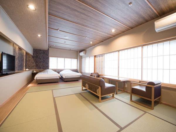 2016春リニューアル 温泉風呂付和室10畳+ツイン 339号室