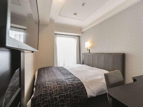 ダブルルーム/14平米/ベッド幅140cm×1台