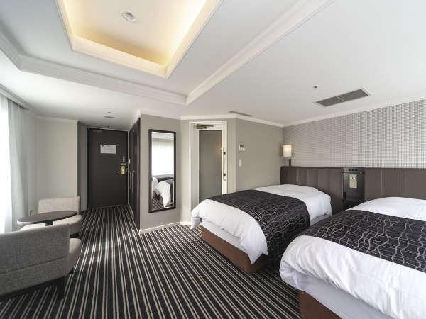 プレミアツインルーム/24平米/ベッド幅110cm×2台