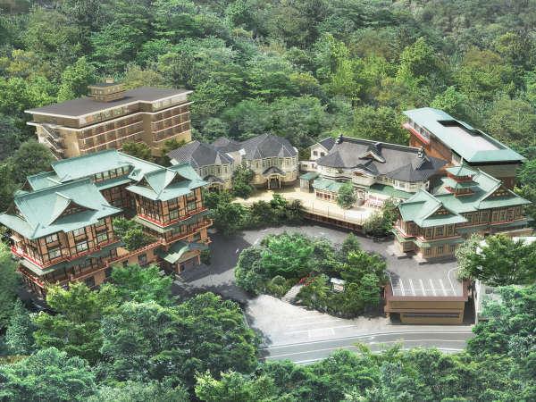 【富士屋ホテル】―2020年7月15日グランドオープン―創業140余年のクラシックホテル